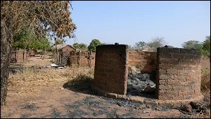 Ouandja is one of the villages in Vakaga province that has been burned to the ground.