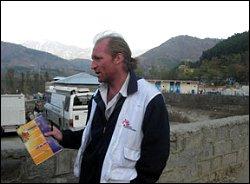 Nick Lawson in Pakistan