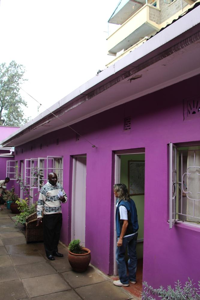 Lavender House Clinic in Nairobi's Mathare slum, Kenya.