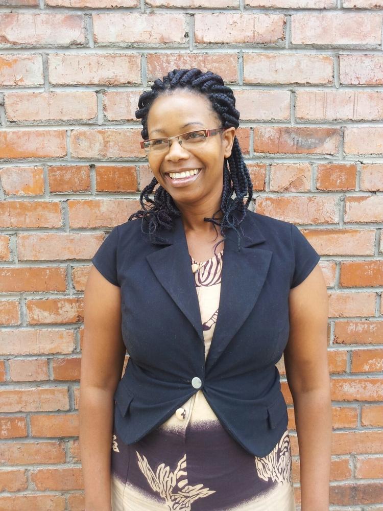 Juliana Nhamburo, nurse counselor at MSF's sexual violence project in Mbare, Zimbabwe.