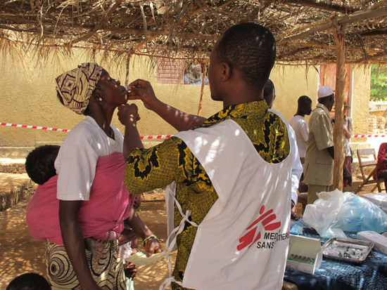 For First Time In Africa MSF Responds To Cholera Outbreak Guinea With Mass Vaccination Campaign