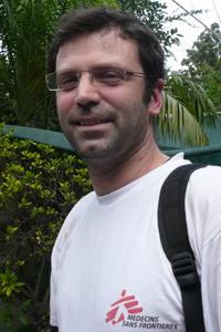 MSF Staff Sebastian Spencer