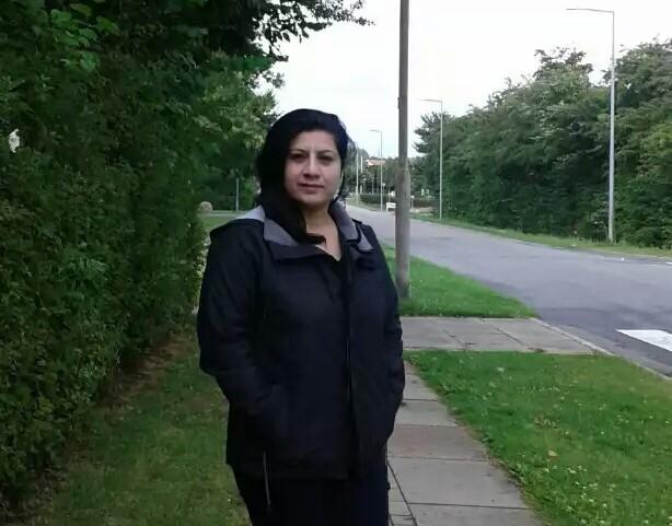 Bahar was granted refugee status in Denmark.