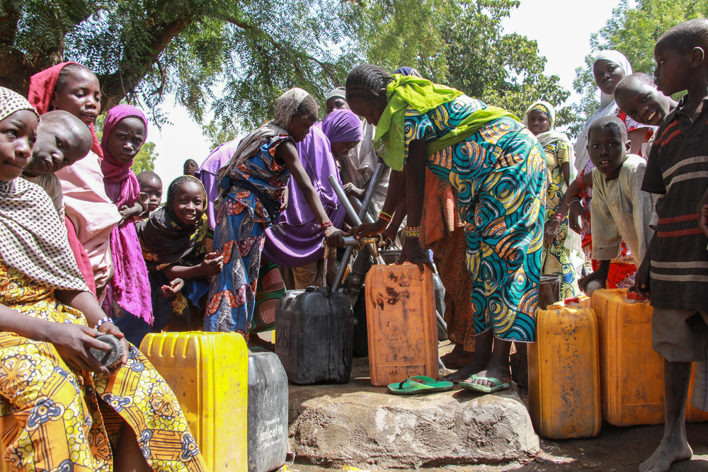 MSF is helping to provide more water to displaced people in Banki.