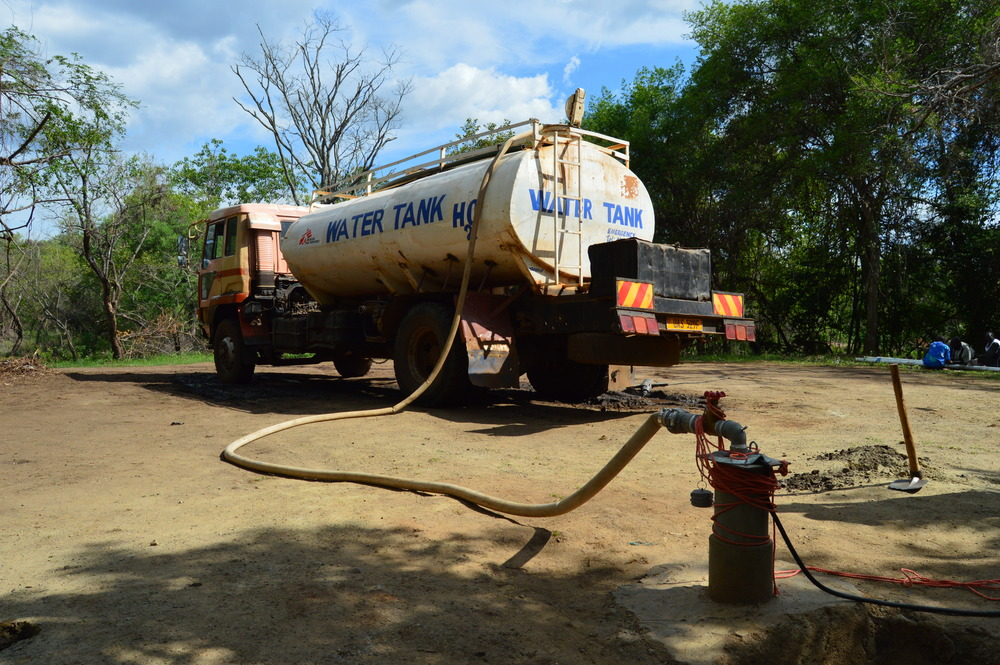 South Sudan Uganda refugee water and sanitation