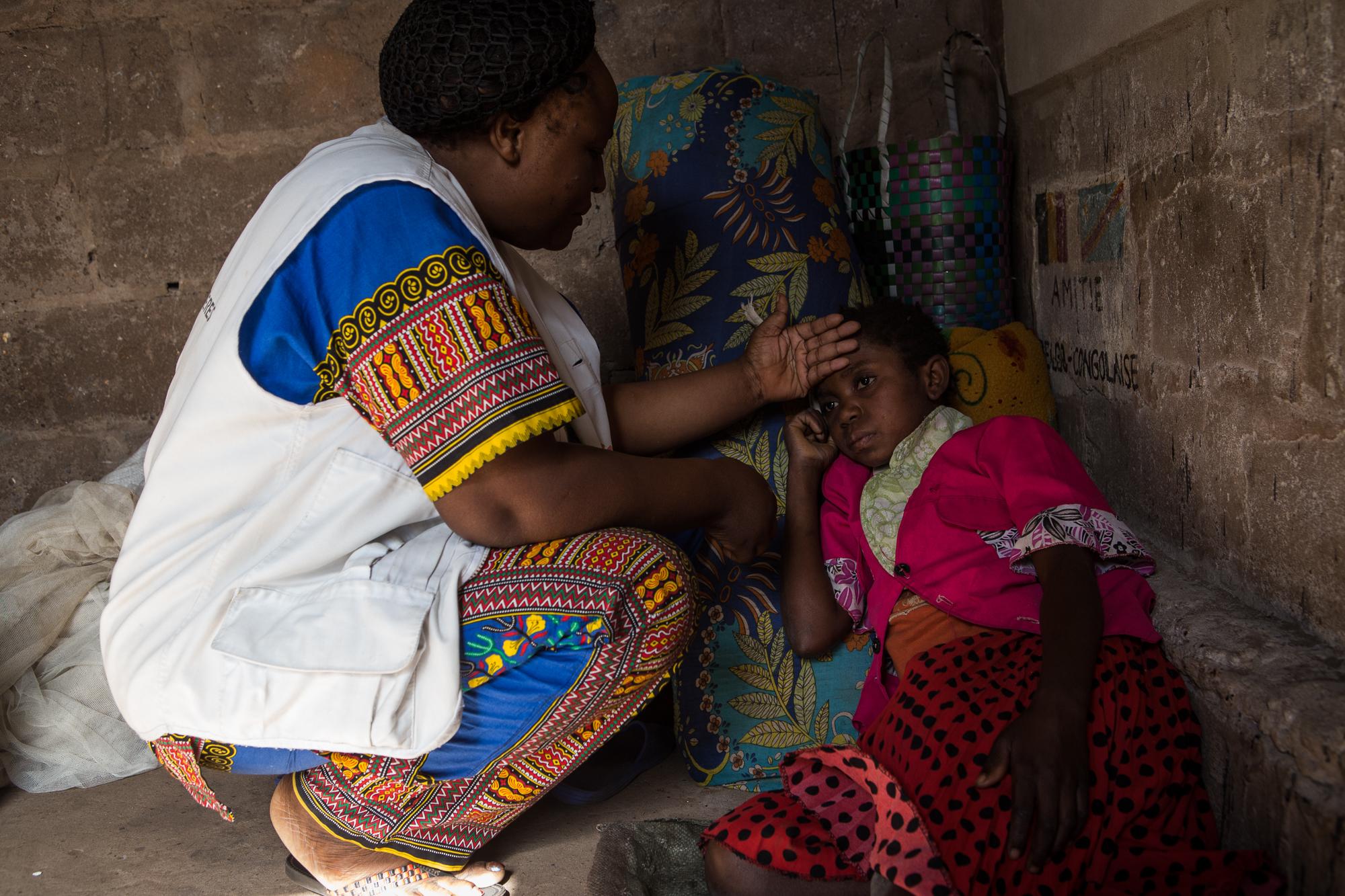 DRC Democratic Republic of Congo internally displaced people malnutrition