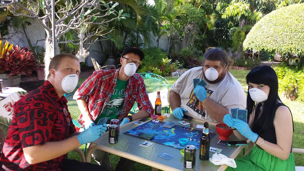 Pandemic Parties, Pandemic the Board Game, Event Fundraisers