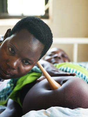 An antenatal consultation at MSF supported hospital in South Sudan