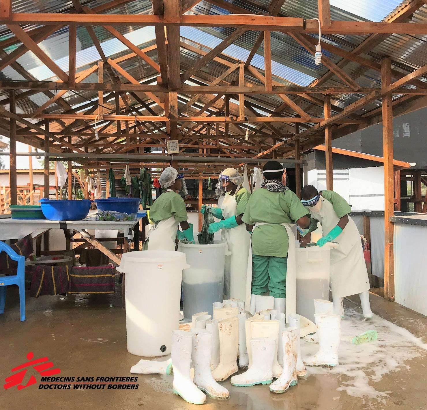 Opened on 04/01/19, this treatment center responds to the outbreak of new Ebola cases in Katwa. Located in the town of Butembo, Katwa Health Zone covers the western part of this urban area which has about 1 million inhabitants.