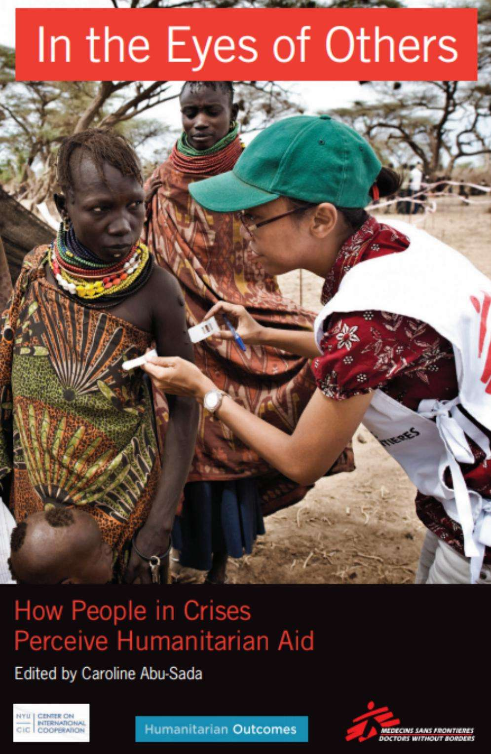 """In the Eyes of Others: How People in Crises Perceive Humanitarian Aid"" bookcover"