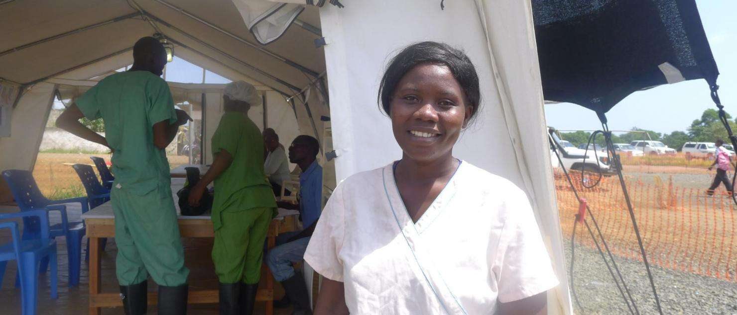 Surviving Ebola, Then Helping Others Fight It