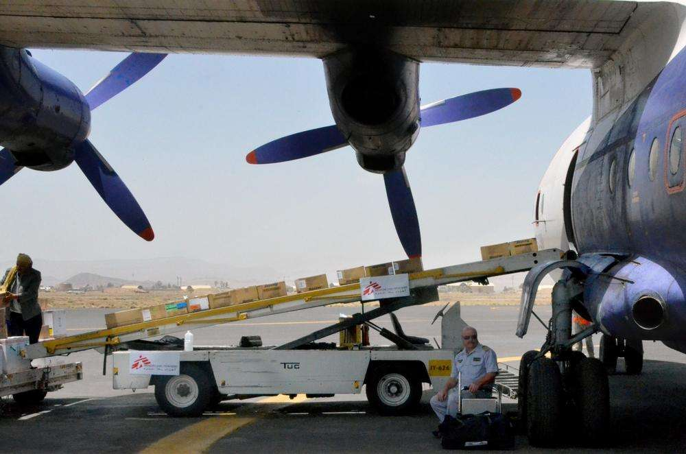 Yemen: MSF Plane Carrying Urgently Needed Medical Supplies Lands in Sana'a