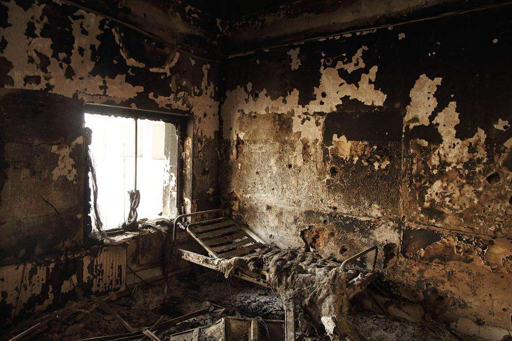Video: MSF Staff Member Goes Back to Kunduz Hospital Ruins