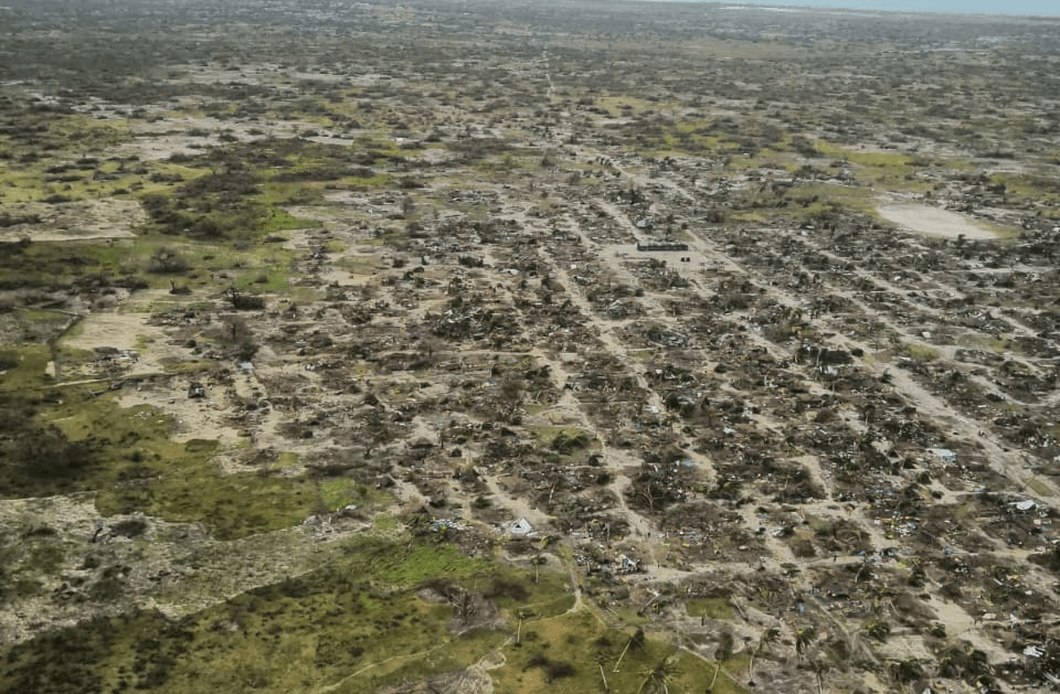 Cholera and widespread destruction as second cyclone hits Mozambique