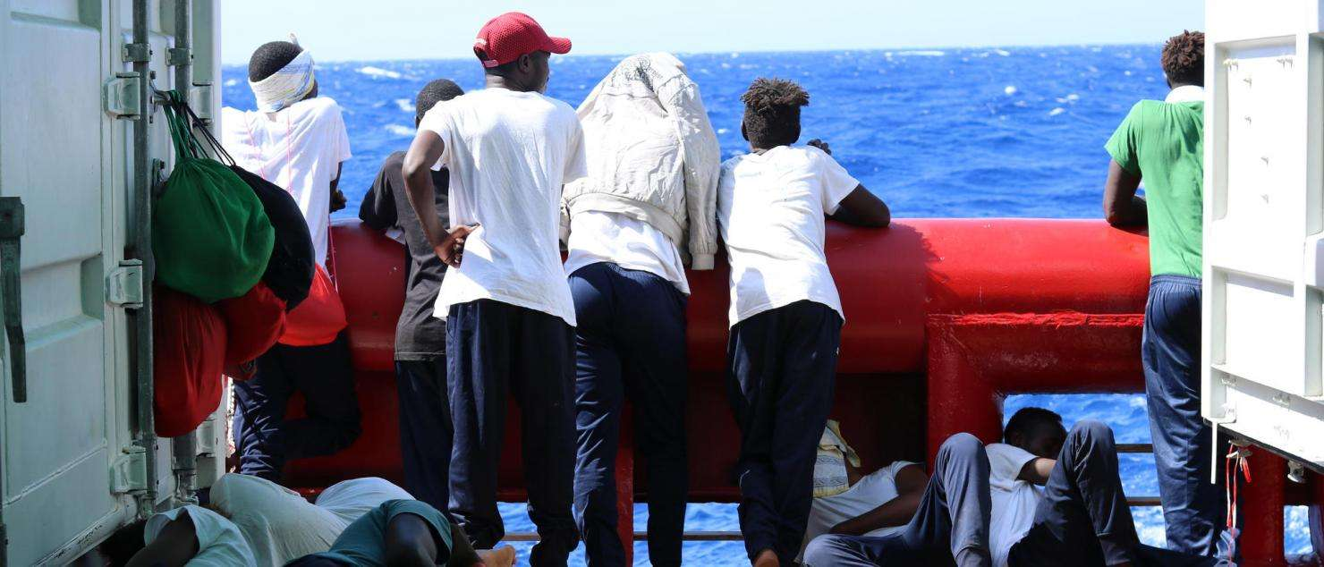 After two weeks, 356 people rescued in the central Mediterranean may finally disembark