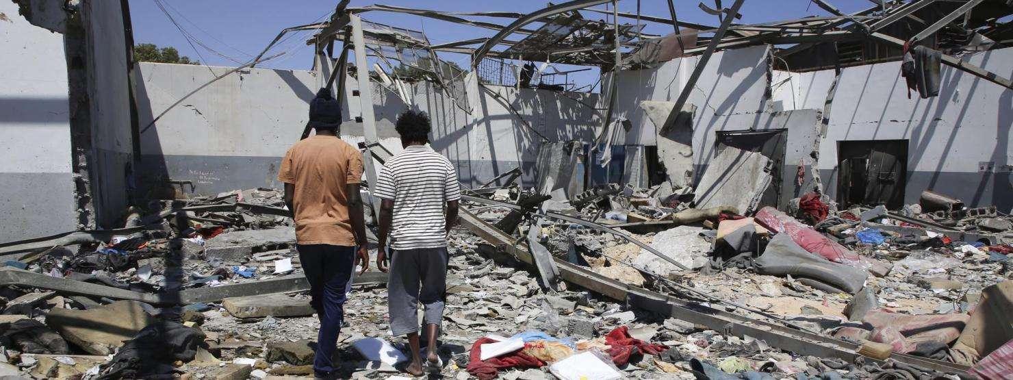 Airstrike Detention Center - Tajoura