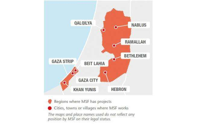 Palestinian Territories   Doctors Without Borders - USA on