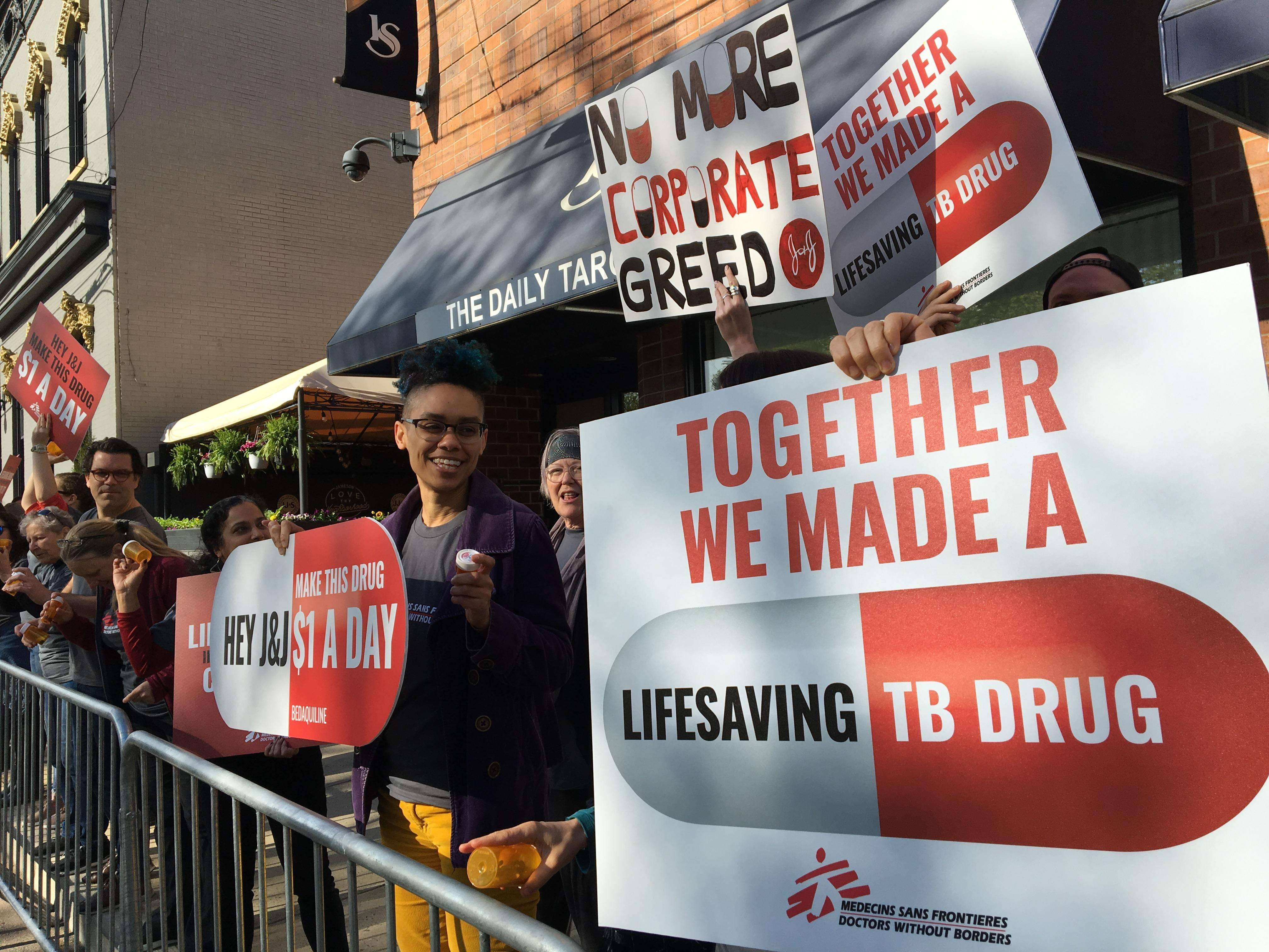 MSF: Johnson & Johnson should make TB drug available for all at $1/day