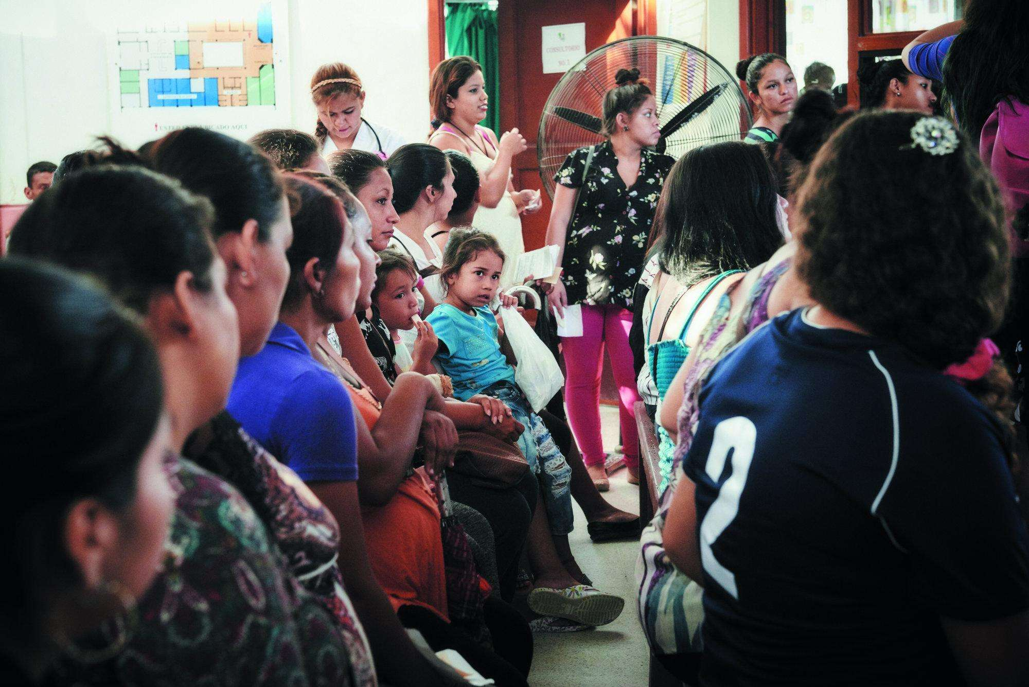 MSF supports a mother and child clinic in Honduras
