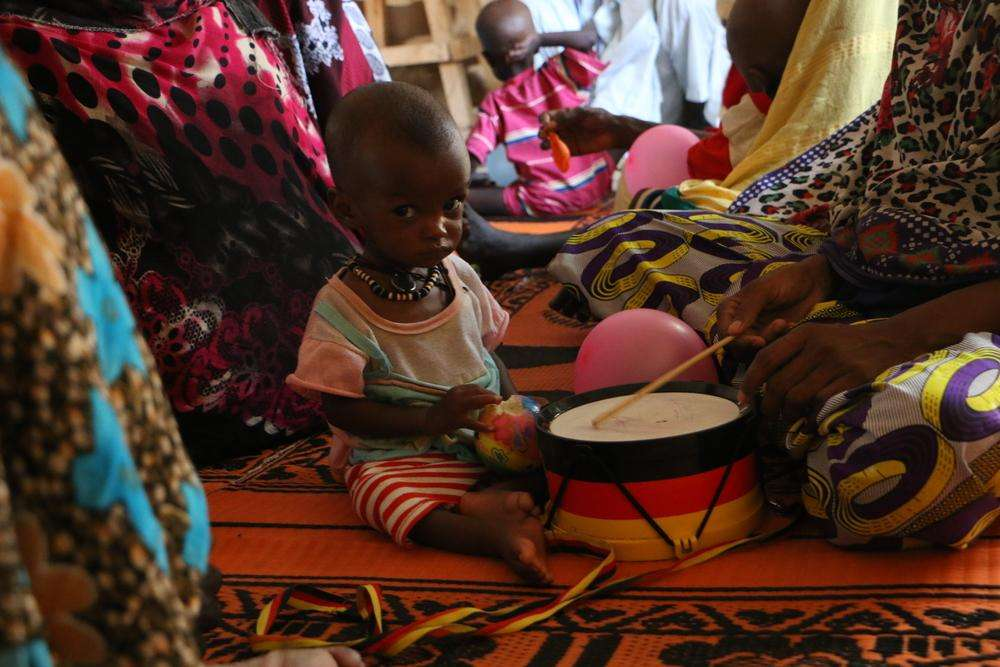 Treating malnutrition in Am Timan, Chad
