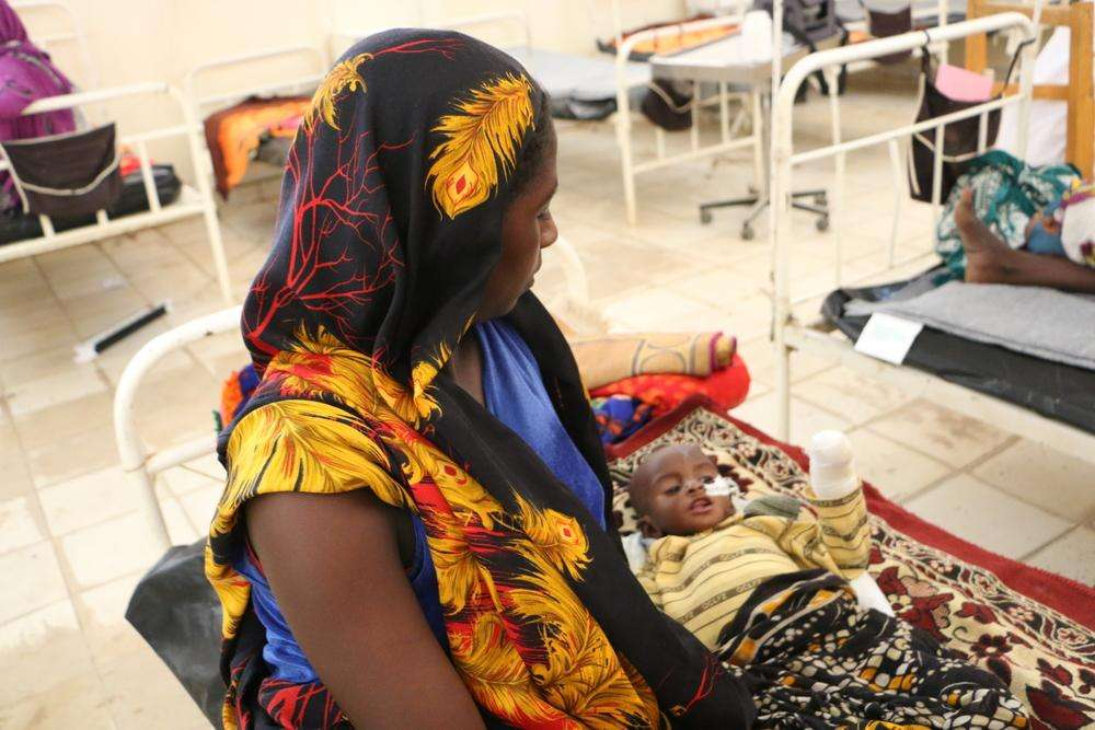 Treating malnutrition in Chad