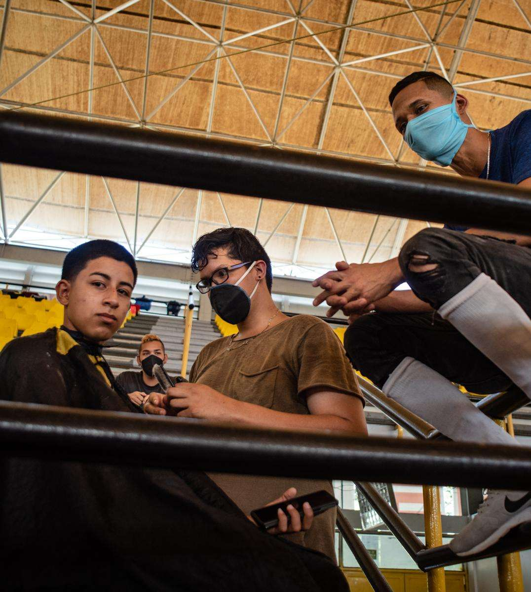 Inside the quarantine centers of Táchira, Venezuela.