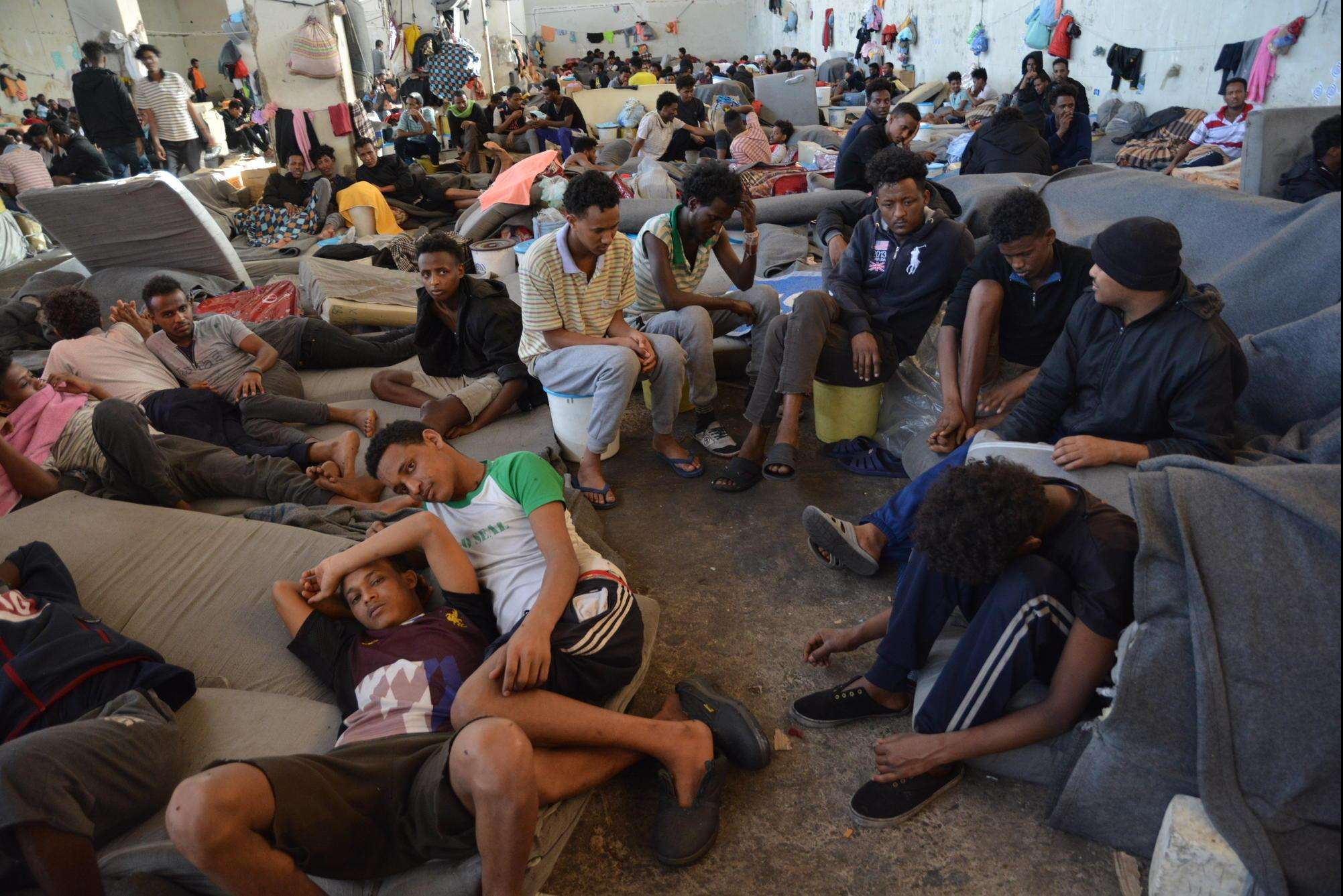 Refugees face death, disease, and despair in Libya's detention centers
