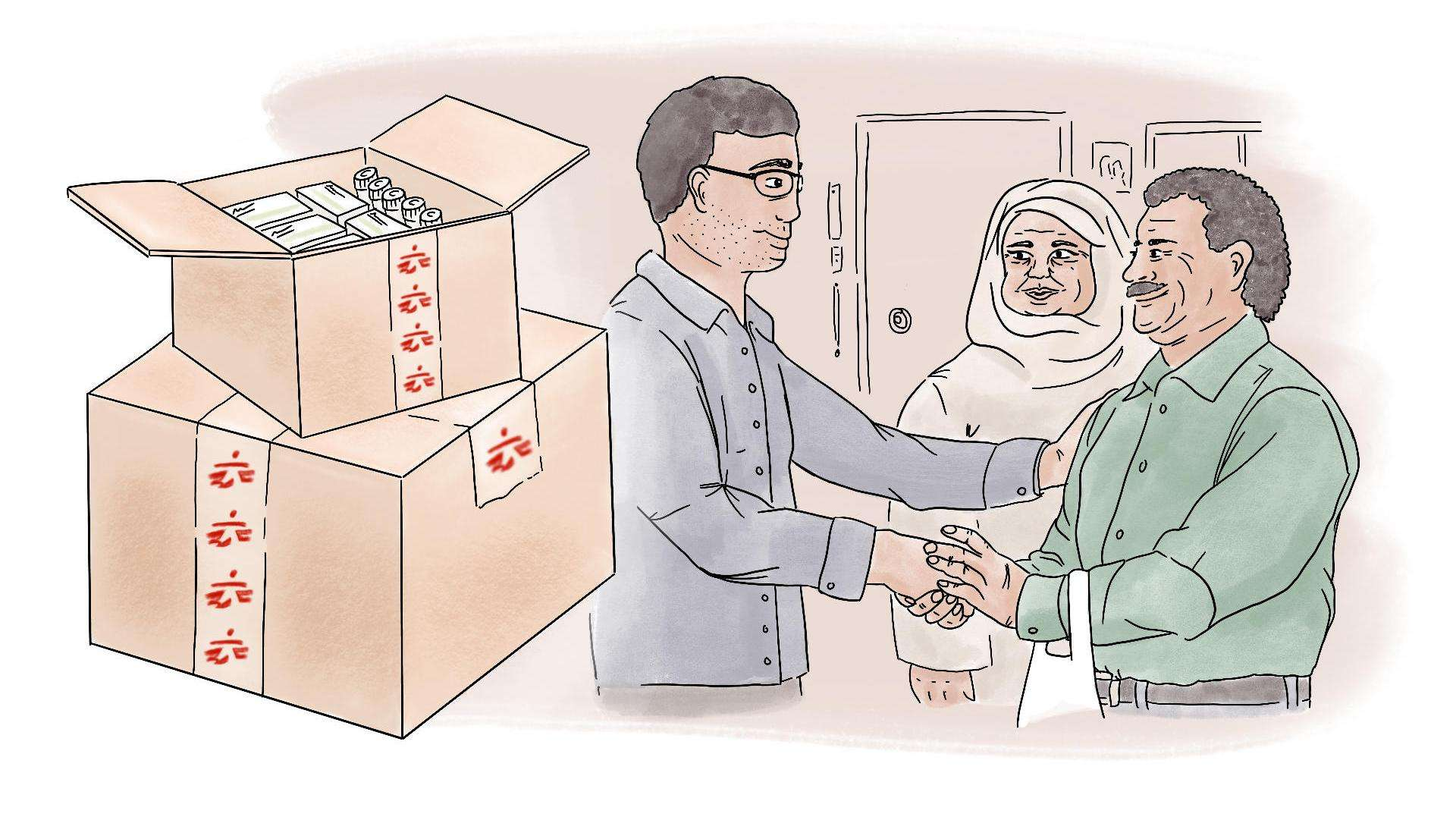 MSF provides life-saving medicine and treatment for kidney transplant patients in Syria