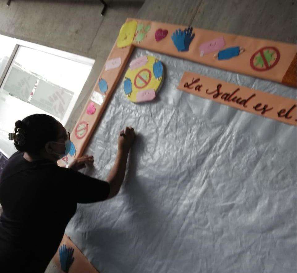 Images of the MSF psychosocial support in Honduras