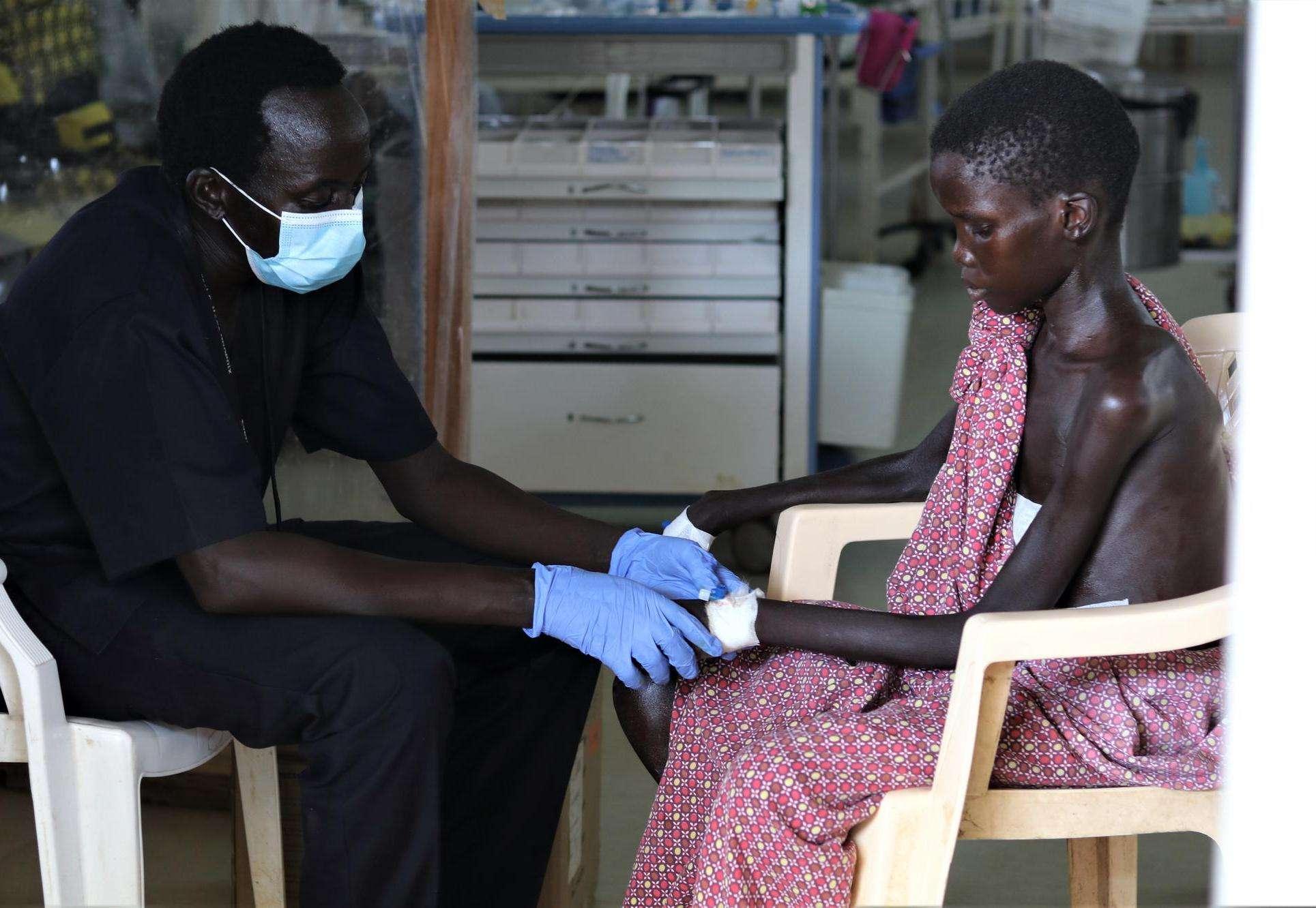 South Sudan floods: Yoel, 13-years-old, Bentiu PoC