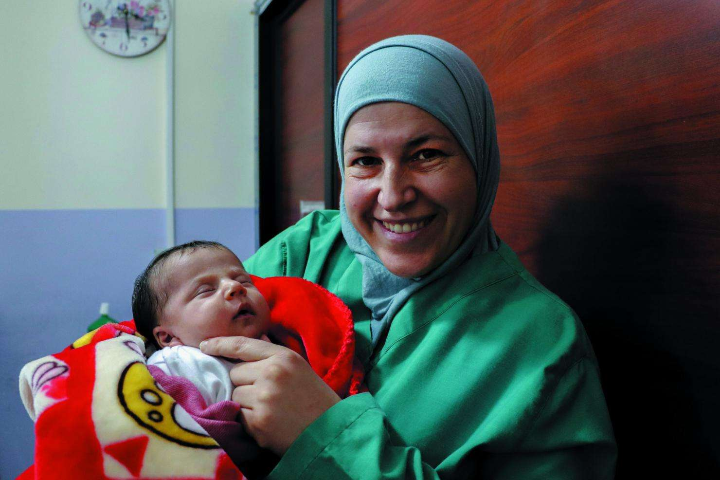 MSF's Women Health Center in Shatila camp, Lebanon.