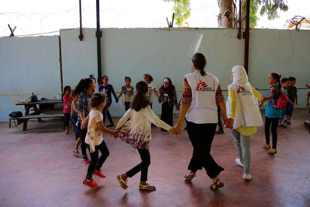 On Tuesday 7th August 2018 the MSF mental health team working in cities of Nablus and Qalqilya in the West Bank, Palestine, held an awareness day at a local zoo for women and children