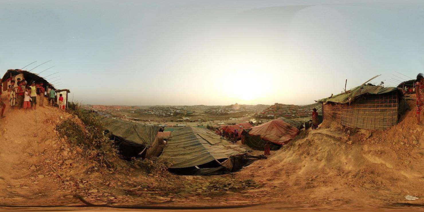 Rohingya exodus - 360 Photo