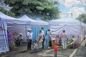 An MSF clinic in El Salvador
