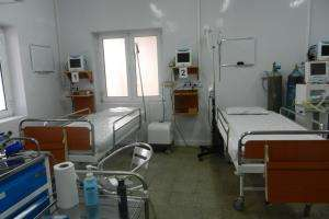 This March 2011photograph shows part of the intensive care unit in the MSF Trauma Centre, Kunduz, northern Afghanistan