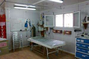 This March 2012 photograph shows the newly openned radiology department in the MSF Trauma Centre, Kunduz, Afghanistan