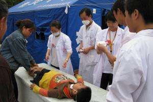 MSF responds to the May 12, 2008, earthquake in Sichuan province, China