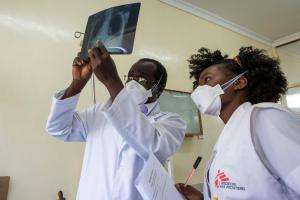 Advanced HIV management in Homa Bay