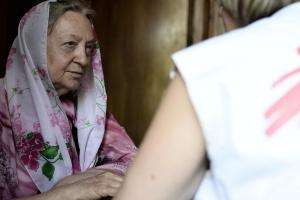 Providing care in Donetsk area