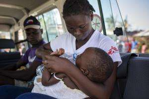 Mobile clinics in Ponta Gea area of Beira, Mozambique.