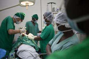 Influx of wounded patients in Sica hospital in Bangui
