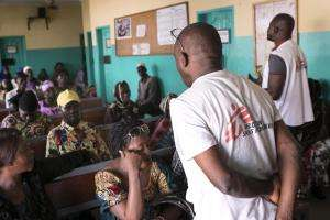 Treating HIV and AIDS in Conakry