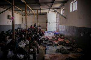 Libya Tripoli detention detainment refugee migrant