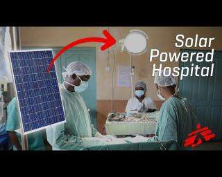 Solar Panels Help Save Lives in DRC