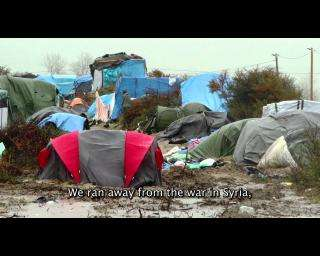 Refugees face miserable conditions in 'The Jungle'