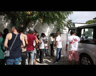 Mediterranean Crisis | Refugees in Kos stuck in appalling conditions