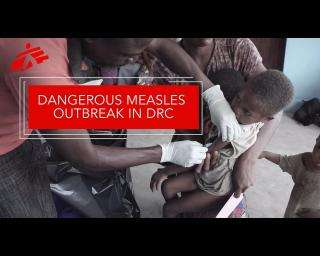 Responding to a rise in measles cases in Democratic Republic of Congo