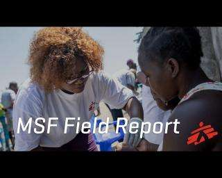Mozambican MSF staff rush to bring Cyclone Idai relief