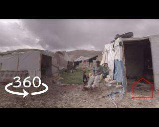 "360 Video: Syrians ""Have to survive having no rights"" in Lebanon"