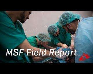 Gaza report: treating the influx of wounded